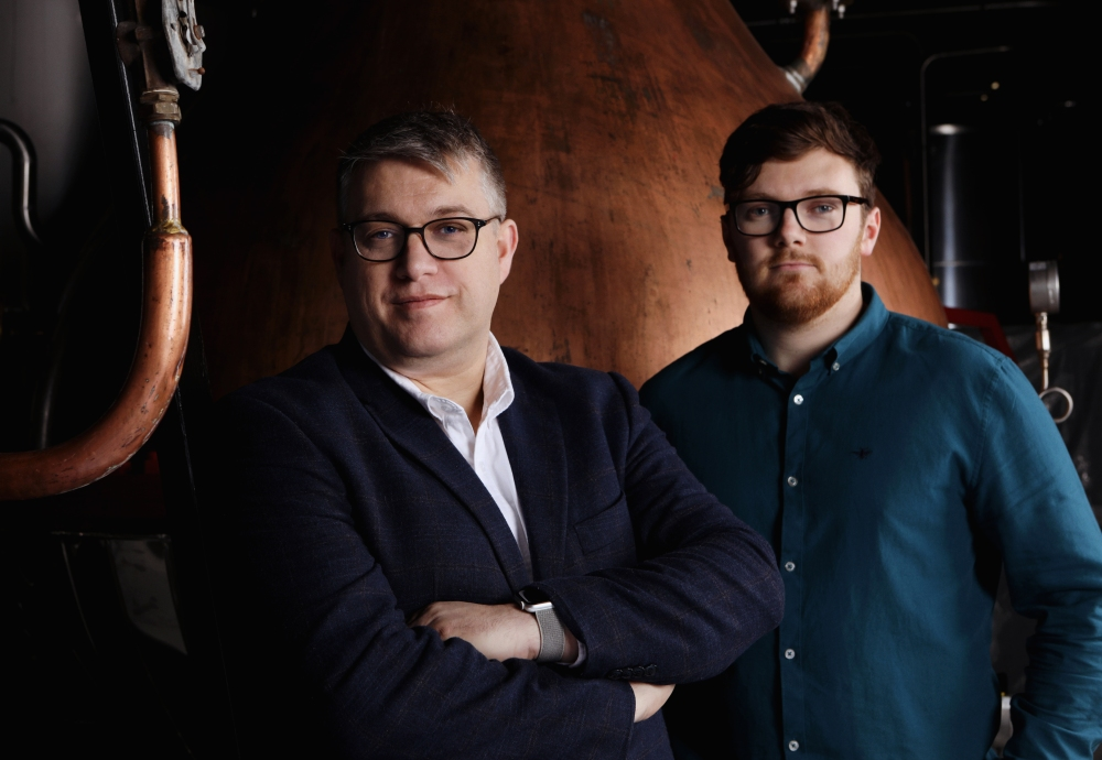 Master Distiller Brian Nation & Apprentice Distiller Henry Donnelly