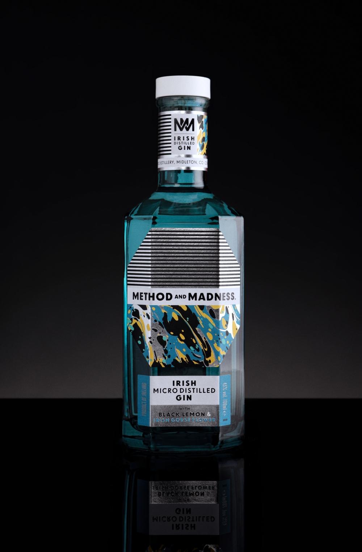METHOD AND MADNESS Irish Micro Distilled Gin 1-1